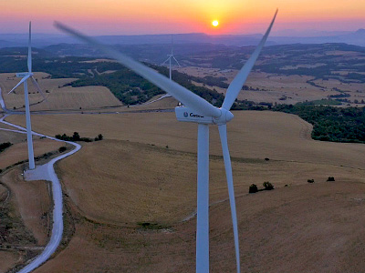 Drones for Wind Turbine Inspection