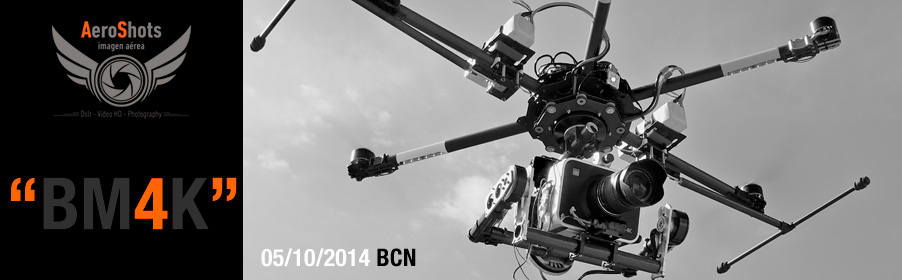 Aerial Filming BlackMagic 4K